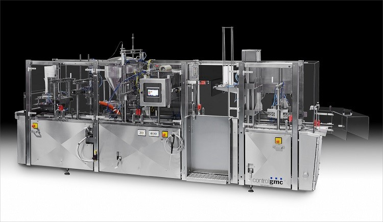 Control GMC FDS2500S Tub Filling Line