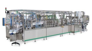 SN pouch bagger - HFFS Bagger for liquids