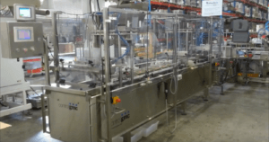 Control GMC Hinged Lid Containers filling - Complete machine