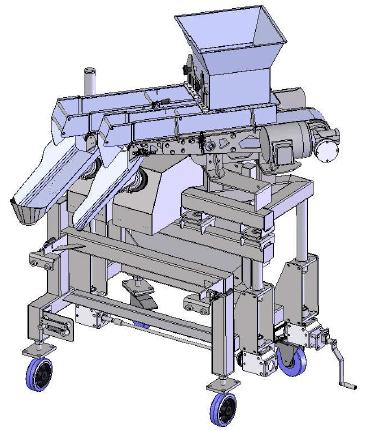 Control GMC DM1600 Dual Belt Weigh Filler